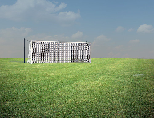 Installed Render of The Perfect Penalty Kick