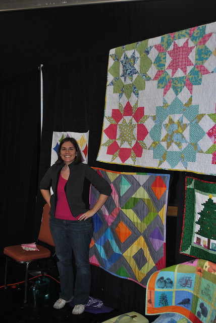 Lindsay with Diamonds Mini Quilt