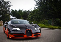 Bugatti (Noah Gillard Photography) Tags: world california cars beach sports car three monterey fast super pebble dollar carmel million record carbon fiber expensive northern edition concours bugatti rare mph fastest concourse w16 veyron supersport 270 fibre supersports 269 delegance worldcars noahgillardphotography