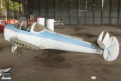 N93938 - 1261 - Private - Alon A-2 Aircoupe 415-C - Panshanger - 110522 - Steven Gray - IMG_3967