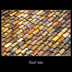 Rooftiles, Roussillon (tim, TimCooperPhotos.com) Tags: blue roof orange france yellow europe flickr tiles provence roussillon linchen timcooper
