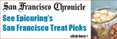 Epicuring sweets pics in San Francisco Chronicle