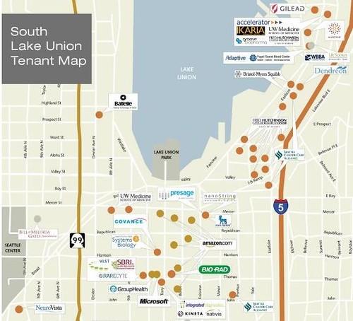 Seattles South Lake Union Tech Hub dailywirelessorg