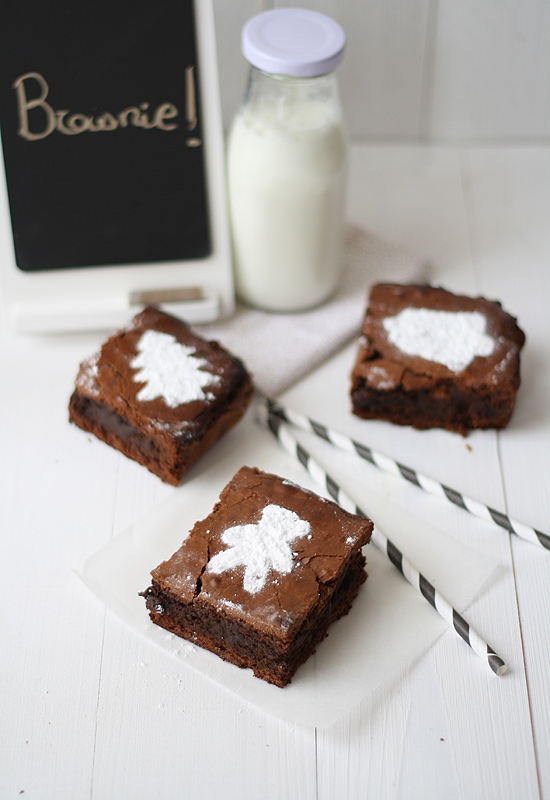 Egg shell brownie