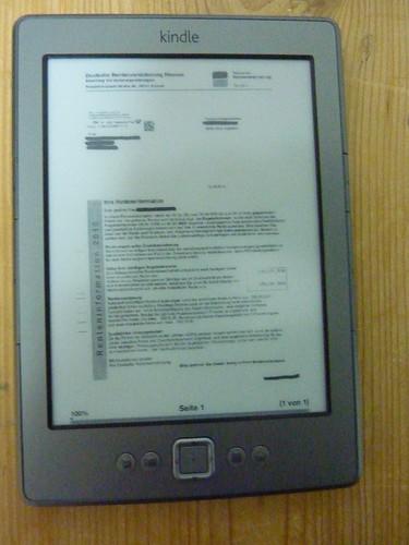 pdf-Dateien mit dem Kindle lesen