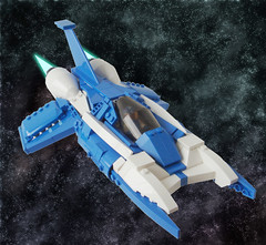 VValiant - Title (.Jake) Tags: blue lego space valiant vicviper novvember