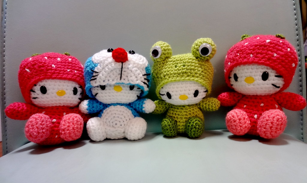 Amigurumi Doraemon Pattern : The world s best photos of crochet and doraemon flickr hive mind