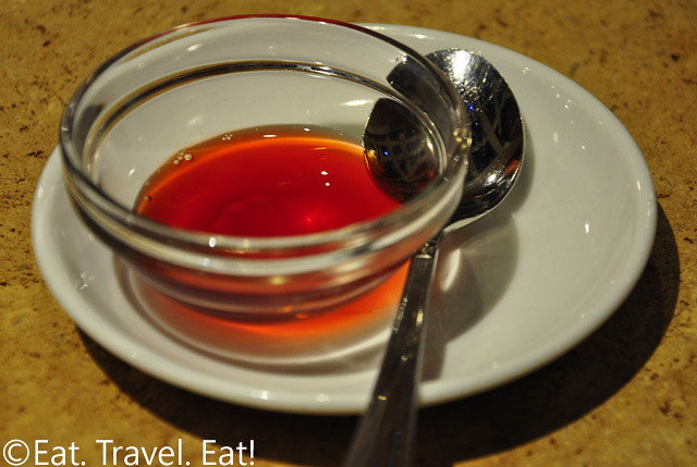 R&G Lounge- Chinatown, San Francisco, CA: Red Vinegar Saucer