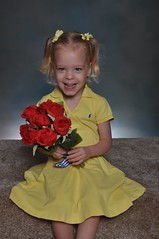 11-kdtgov2 129 (drjeeeol) Tags: pictures flowers school roses katie daycare fav triplets toddlers schoolpictures 2011 36monthsold