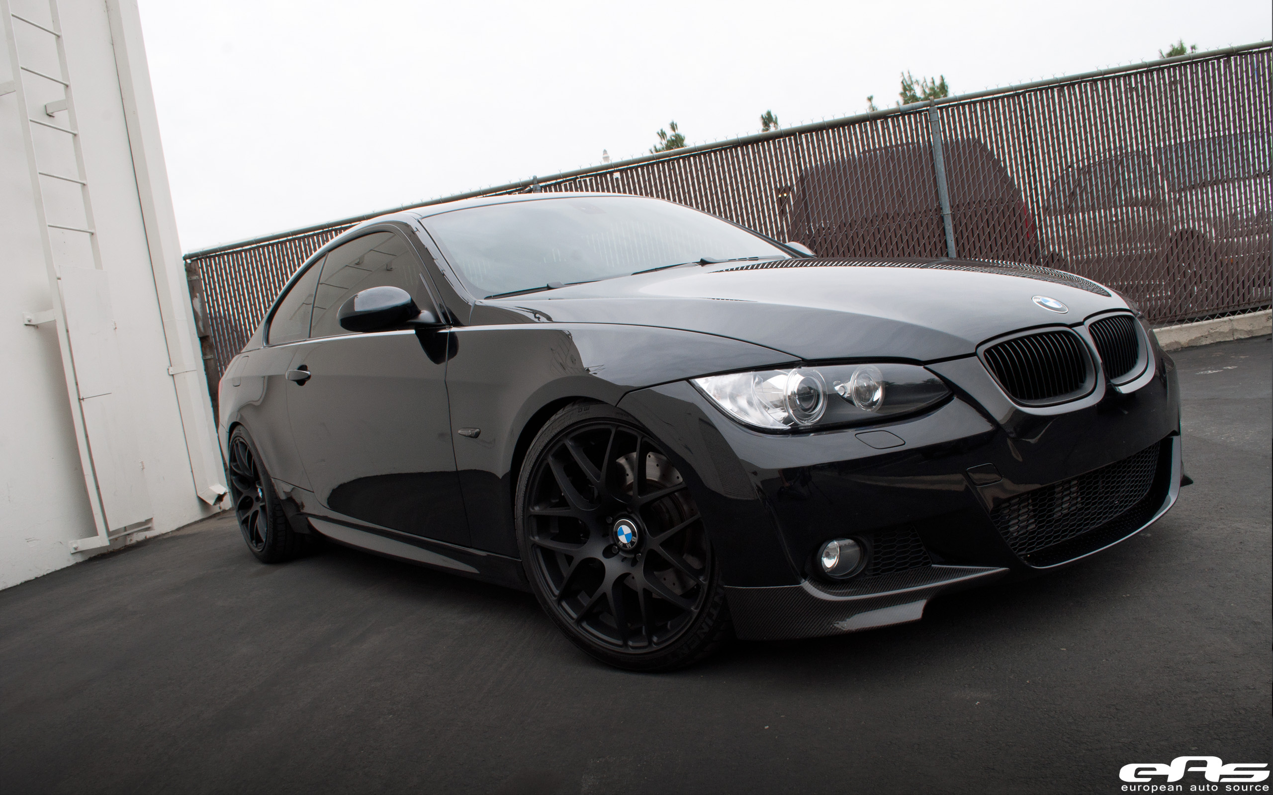 Jet Black E92 335i With Matte Black Vmr V710s Bmw