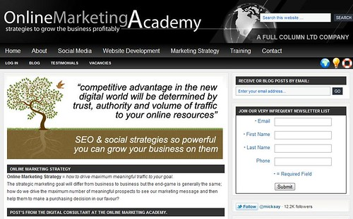 OnlineMarketingAcademy by totemtoeren