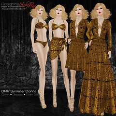 DNR Summer Donna Square Posters Brown (designingnickyree) Tags: bikini dresses gowns sarongskirt nickyree slfashion resortfashion
