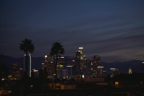 """2011 November Downtown Los Angeles Sunrise Timeshift • <a style=""""font-size:0.8em;"""" href=""""http://www.flickr.com/photos/49469477@N00/6341243788/"""" target=""""_blank"""">View on Flickr</a>"""