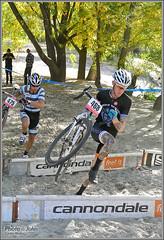 Nikon 1 Action Photo - Cyclocross Barriers (Photo-John) Tags: sports bike cycling utah jump sand nikon cross action cx saltlakecity barriers j1 cyclocross wheelerfarm nikon1 utcx sutofocus