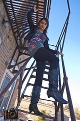 Inaya - On the stairs 2 (Neil Young Photography (nyphotos.ca)) Tags: urban canada calgary beauty nikon d70 neil alberta neilyoung inaya fotoman nyphotos neilyoungphotography