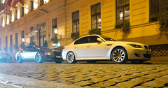 Bentley Continental Supersports vs. BMW M5 (MauriceVanGestel Photography) Tags: auto whi