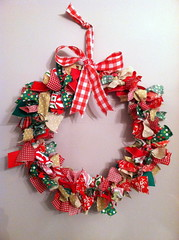 scrappy wreath