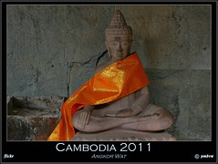 Cambodia 2011 (pharoahsax) Tags: world get colors canon temple asia asien cambodge cambodia kambodscha sdostasien buddha south east angkor wat tempel 2011 40d pmbvw worldgetcolors