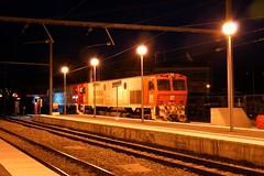 FGC 254.02 + 254.01 Manresa-Alta (eldelinux) Tags: train tren gm diesel railway via freight estacin va locom