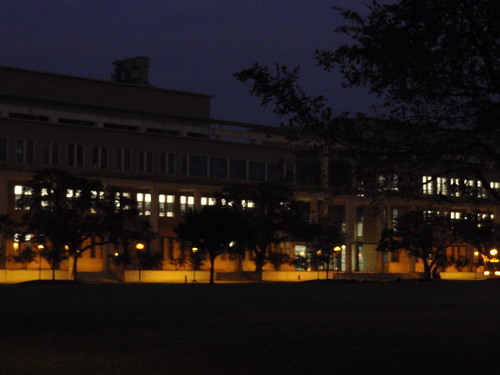 Campus After Dusk