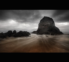 """ IMPOSING "" (Wiffsmiff23) Tags: scary ominous fear bully imposing brutal threecliffsbay thegower"