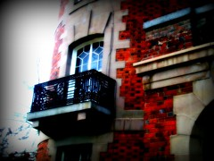 Balcony #1 (BlackAndBlueBeauty) Tags: art montana iron butte uptown chateau balcont