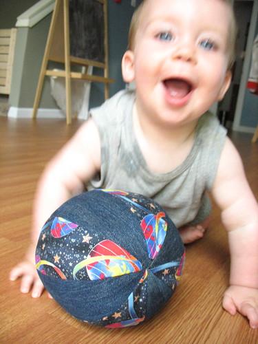 Handmade ball