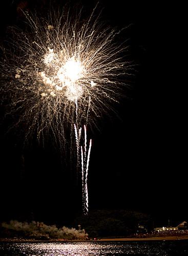 Fireworks at Oakland Beach - Warwick, Rhode Island