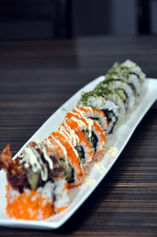 Eyuzu Maki and Unagi Maki