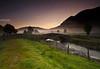 04.38am Sunrise & Mist (.Brian Kerr Photography.) Tags: bridge trees mist fog sunrise canon river landscape lakedistrict cumbria keswick blencathra stjohnsinthevale eos5dmkii