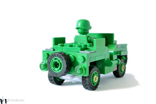 Toy Story Jeep - Rear