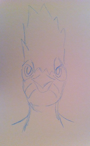 Woodpecker sketch