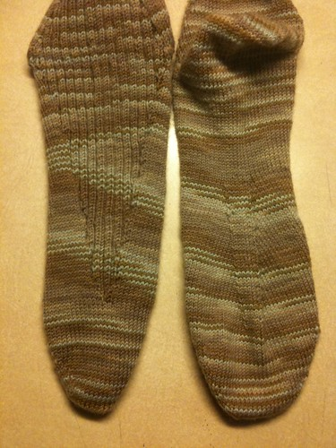 Arch-enemy Sock Pattern Beta by knittingbrow