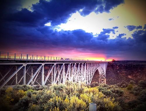 Rio Grande Sunset by bichonphoto