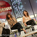 Tyra Banks of Bankable Enterprises, Jessica Herrin of Stella & Dot, Katrina Markoff of Vosges Haut-Chocolat, and Moderator: Rosie O'Donnell, Actor, Talk Show Host speaking at ENTREPRENEURS: BUILDING FROM THE GROUND UP
