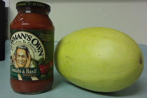 Spaghetti Squash & Sauce