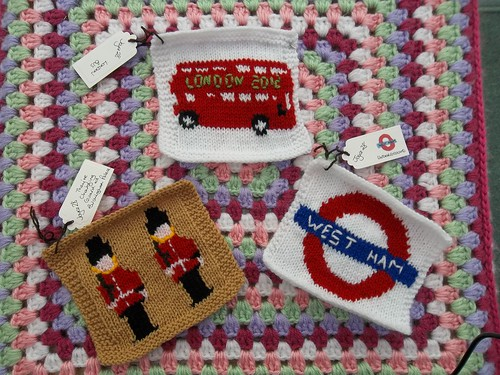 'London' Squares for our Olympic Blanket.