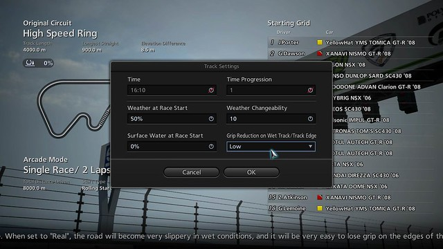 GT5 2.0 WeatherChange