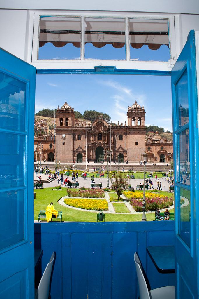 Cusco, vista para a Plaza de Armas