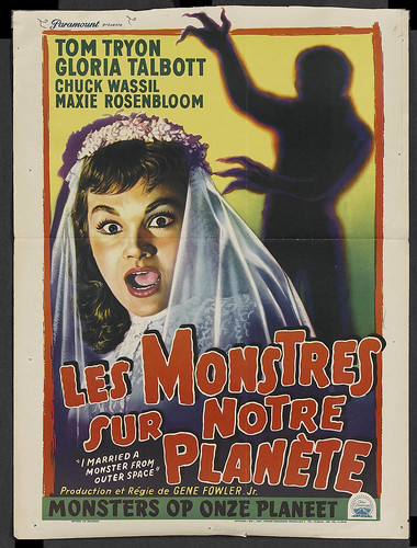 I Married a Monster from Outer Space (1958) 1 sheet Belgian