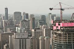 Life Less Ordinary (Neil Ta | I am Bidong) Tags: toronto skyline construction downtown skyscrapers crane shangrila urbanexploration urbex canon135mm rooftopping neilta canon5dmkii iambidong