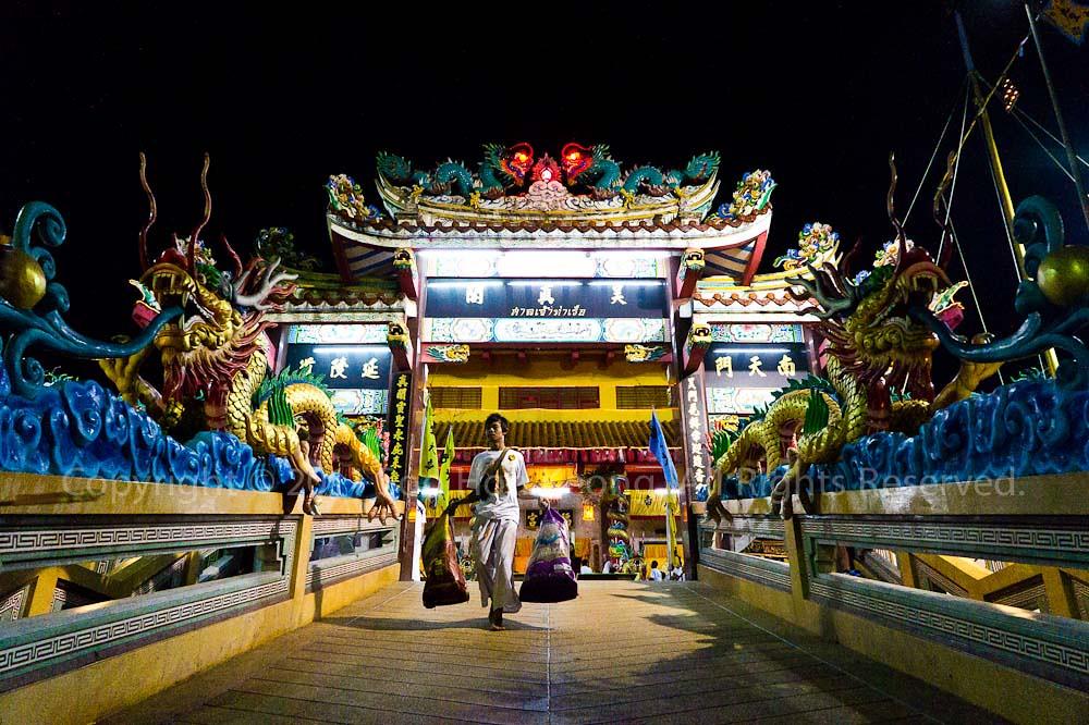 Ban Tha Rue Shrine @ Phuket Vegetarian festival 2011, Phuket, Thailand