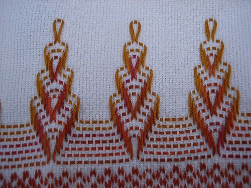 Swedish Weaving Finish!
