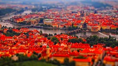 Miniature Praha at a glance (Yohsuke_NIKON_Japan) Tags: pen miniature europe czech prague praha olympus tiltshift epl2