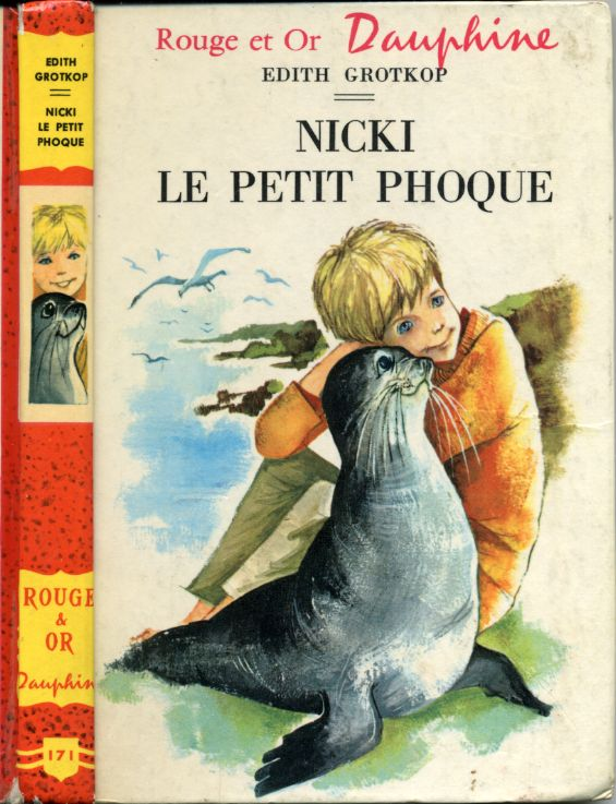 Nicki le petit phoque, by Edith GROTKOP