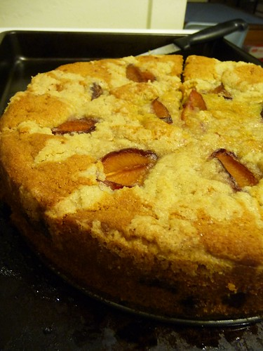 Coffee Cake with Prunes
