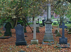 Graveyard, Chapel Allerton by Tim Green aka atoach