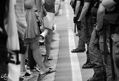 Try (LaKry*) Tags: blackandwhite feet grey blackwhite grigio police demonstration piedi biancoenero polizia manifestazione manganelli legalalega coshes noalgiropadano