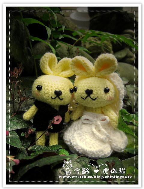 兔子.婚禮娃娃9