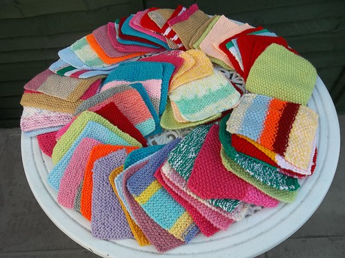 Mrs. Neighbour (UK) Wow! 70 beautiful Knitted Squares arrive this morning! Thank you so much!